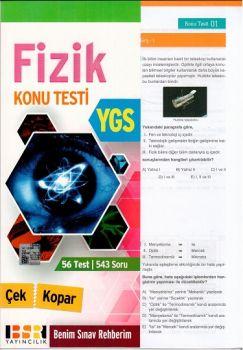BSR Yayıncılık YGS Fizik Yaprak Test
