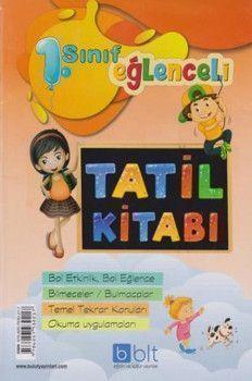 Bulut Eğitim ve Kültür Yayınları 1. Sınıf Eğlenceli Tatil Kitabı