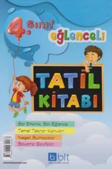 Bulut Eğitim ve Kültür Yayınları 4. Sınıf Eğlenceli Tatil Kitabı