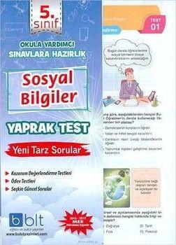 Bulut Eğitim ve Kültür Yayınları 5. Sınıf Sosyal Bilimler Yaprak Test