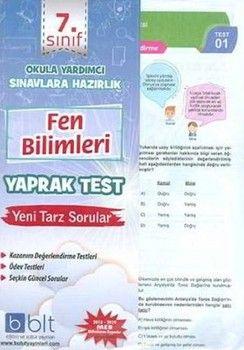 Bulut Eğitim ve Kültür Yayınları 7. Sınıf Fen Bilimleri Yaprak Test