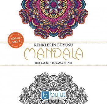 Bulut Eğitim ve Kültür Yayınları Mandala Renklerin Büyüsü