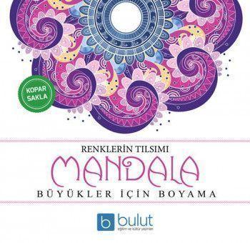 Bulut Eğitim ve Kültür Yayınları Mandala Renklerin Tılsımı