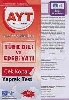 Bulut Eğitim ve Kültür Yayınları AYT Türk Dili Ve Edebiyatı Çek Kopar Yaprak Test