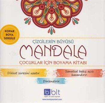 Bulut Eğitim ve Kültür Yayınları Çizgilerin Büyüsü Mandala Çocuklar İçin Boyama Kitabı