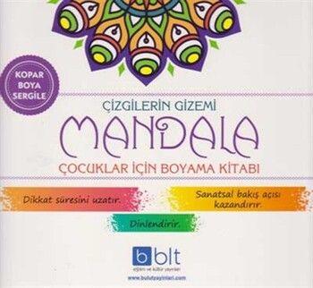 Bulut Eğitim ve Kültür Yayınları Çizgilerin Gizemi Mandala Çocuklar İçin Boyama Kitabı