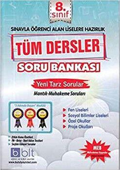 Bulut Eğitim ve Kültür Yayınları 8. Sınıf Tüm Dersler Soru Bankası