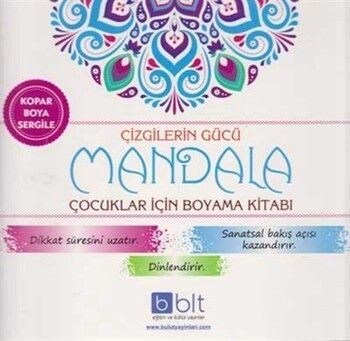 Bulut Eğitim ve Kültür Yayınları Çizgilerin Gücü Mandala Çocuklar İçin Boyama Kitabı