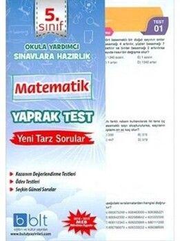 Bulut Eğitim ve Kültür Yayınları 5. Sınıf Matematik Yaprak Test