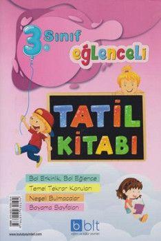 Bulut Eğitim ve Kültür Yayınları 3. Sınıf Eğlenceli Tatil Kitabı
