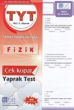 Bulut Eğitim ve Kültür Yayınları TYT Fizik Çek Kopart Yaprak Test