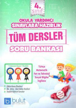 Bulut Yayınları 4. Sınıf Tüm Dersler Soru Bankası