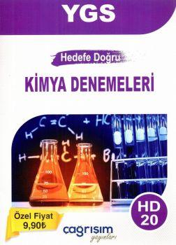 Çağrışım Yayınları YGS Hedef Doğru Kimya 20 Denemeleri