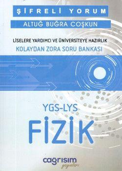 Çağrışım Yayınları YGS LYS Şifreli Yorum Fizik Kolaydan Zora Soru Bankası