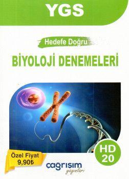 Çağrışım Yayınları YGS Hedefe Doğru Biyoloji 20 Denemeleri