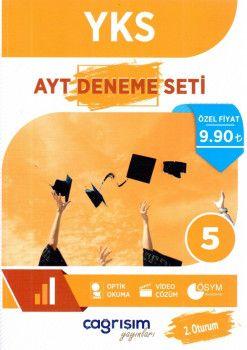 Çağrışım Yayınları YKS 2. Oturum AYT 5 Denem Seti