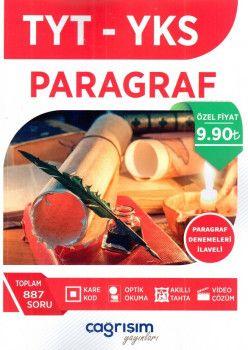 Çağrışım Yayınları YKS 1. Oturum TYT Paragraf Soru Fasikülü Paragraf Denemeleri İlaveli