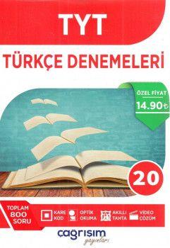 Çağrışım Yayınları YKS 1. Oturum TYT Türkçe 20 Denemeleri