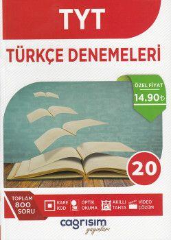 Çağrışım Yayınları TYT Türkçe Denemeleri 20 li