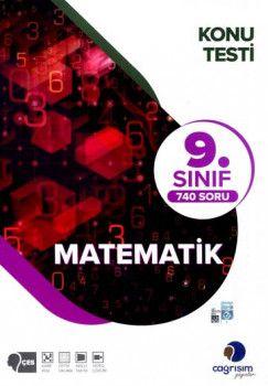 Çağrışım Yayınları 9. Sınıf Matematik Konu Testi