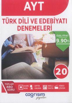 Çağrışım Yayınları AYT Türk Dili ve Edebiyatı Denemeleri