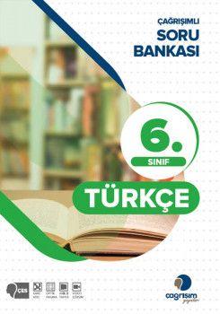 Çağrışım Yayınları 6. Sınıf Türkçe Çağrışımlı Soru Bankası