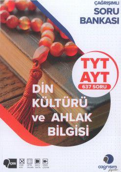 Çağrışım Yayınları TYT AYT Din Kültürü ve Ahlak Bilgisi Soru Bankası