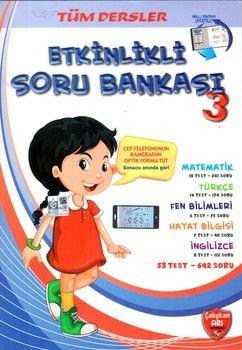 Çalışkan Arı Yayınları 3.Sınıf Tüm Dersler Etkinlikli Soru Bankası