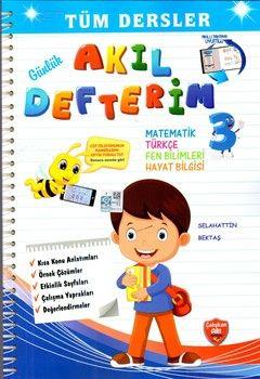 Çalışkan Arı Yayınları 3.Sınıf Tüm Dersler Akıl Defterim