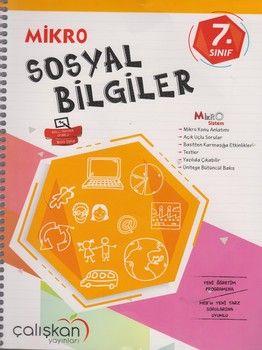 Çalışkan Yayınları 7. Sınıf Mikro Sosyal Bilgiler