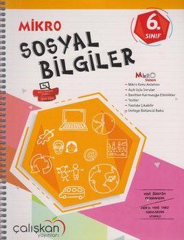 Çalışkan Yayınları 6. Sınıf Mikro Sosyal Bilgiler