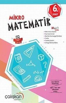 Çalışkan Yayınları 6. Sınıf Matematik Mikro Defter