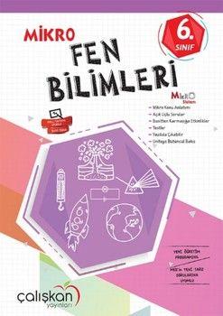 Çalışkan Yayınları 6. Sınıf Fen Bilimleri Mikro Defter