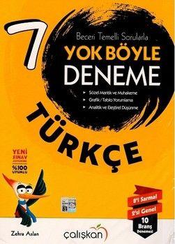 Çalışkan Yayınları 7. Sınıf Türkçe Yok Böyle Deneme