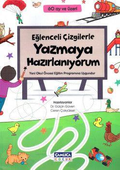 Çamlıca Çocuk Yayınları Eğlenceli Çizgilerle Yazmaya Hazırlanıyorum 60 Ay ve Üzeri
