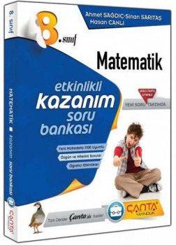 Çanta Yayınları 8. Sınıf Kazandıran Matematik Soru Bankası