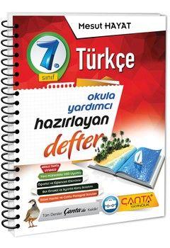 Çanta Yayınları 7. Sınıf Türkçe Hazırlayan Defter