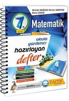 Çanta Yayınları 7. Sınıf Matematik Hazırlayan Defter