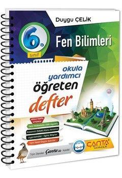 Çanta Yayınları 6. Sınıf Fen Bilimleri Öğreten Defter
