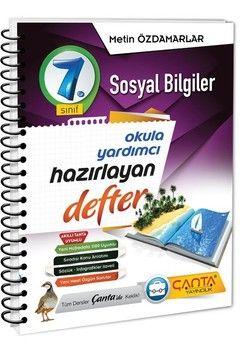 Çanta Yayınları 7. Sınıf Sosyal Bilgiler Hazırlayan Defter