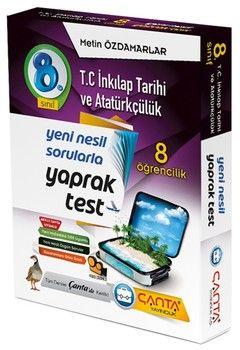 Çanta Yayınları 8. Sınıf İnkılap Tarihi Ve Atatürkçülük 8 Öğrencilik Kutu Yaprak Test