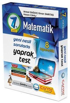Çanta Yayınları 7. Sınıf Matematik 8 Öğrencilik Kutu Yaprak Test