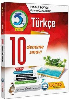 Çanta Yayınları 5. Sınıf Türkçe 10 Deneme