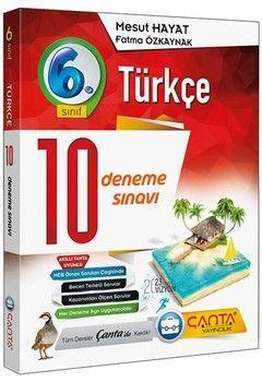 Çanta Yayınları 6. Sınıf Türkçe 10 Deneme