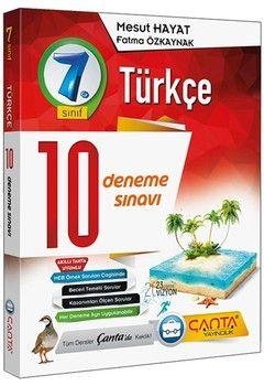 Çanta Yayınları 7. Sınıf Türkçe 10 Deneme