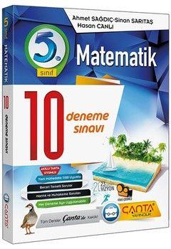 Çanta Yayınları 5. Sınıf Matematik 10 Deneme