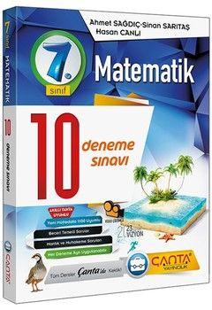 Çanta Yayınları 7. Sınıf Matematik 10 Deneme