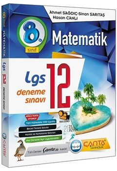 Çanta Yayınları 8. Sınıf LGS Matematik 12 Deneme