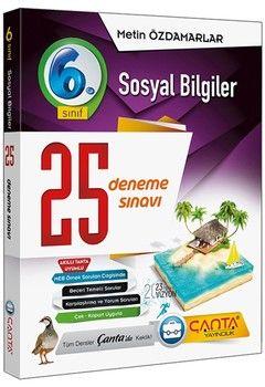 Çanta Yayınları 6. Sınıf Sosyal Bilgiler 25 Deneme