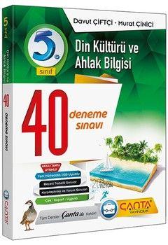Çanta Yayınları 5. Sınıf Din Kültürü ve Ahlak Bilgisi 40 Deneme